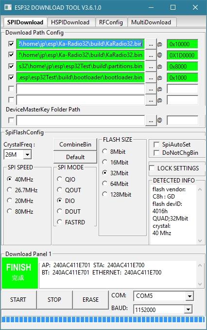 GitHub - karawin/Ka-Radio32: esp32 version of Ka-Radio (https